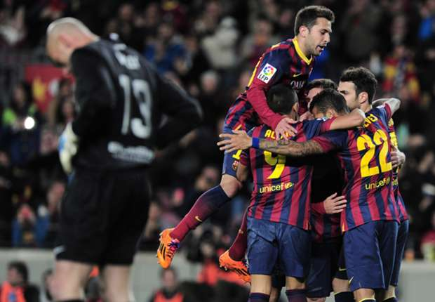 Boardroom blues fail to knock Barcelona off their stride