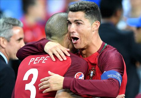 Ronaldo: Pepe was best at Euros