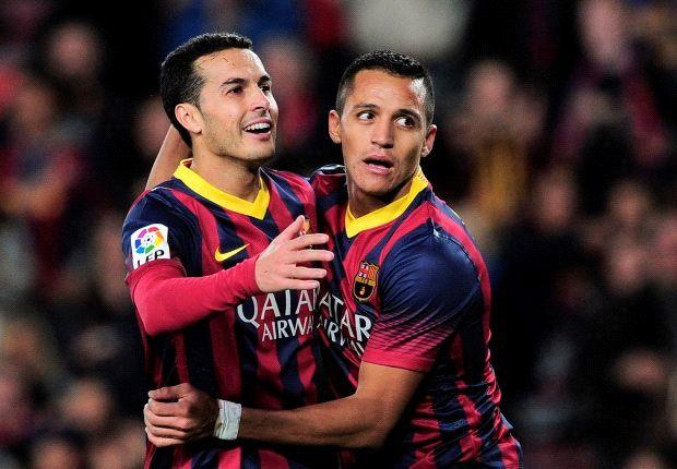 Alexis Sánchez y Pedro, en la agenda del Arsenal