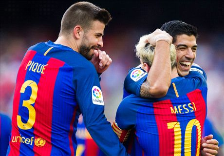 Pique takes aim at Real Madrid... again