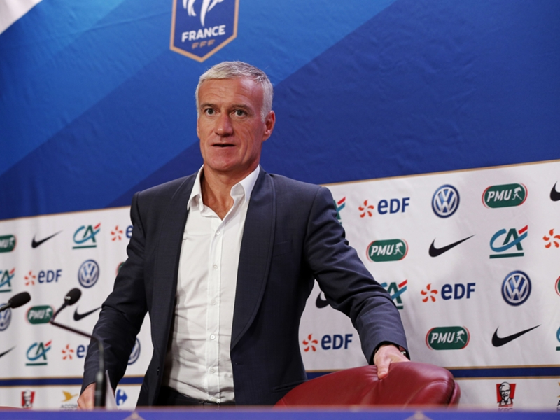 "Equipe de France, Didier Deschamps : ""On a besoin de points"""