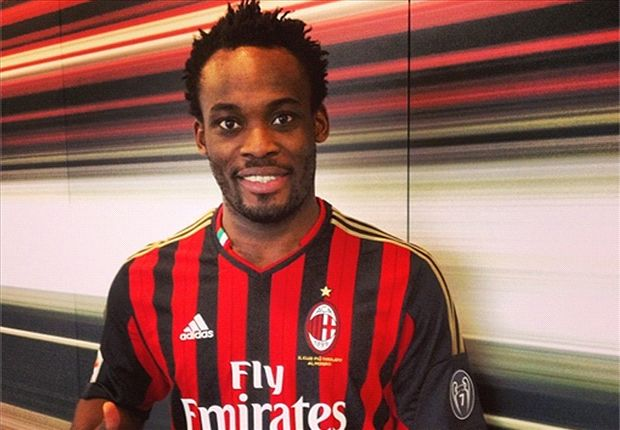 Essien returns to full training ahead of Milan's trip to Roma