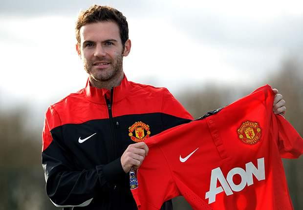 Juan Mata, nuevo fichaje de Manchester United