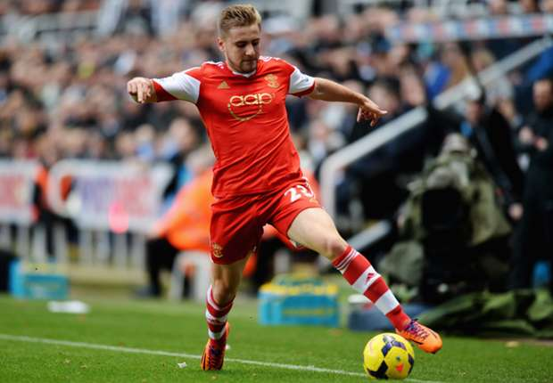 Teenager mit WM-Hoffnungen: Southamptons Linksverteidiger Luke Shaw