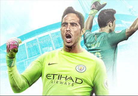 OFFICIAL: Man City sign Claudio Bravo