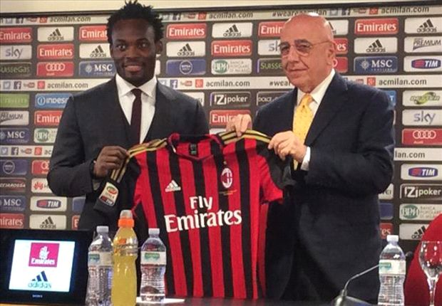 Muntari: Essien can give so much to Milan