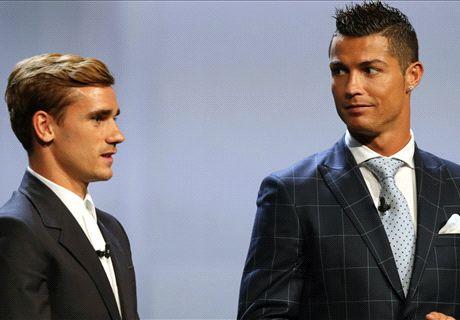 Ronaldo: Griezmann Pantas Jadi Pemain Terbaik