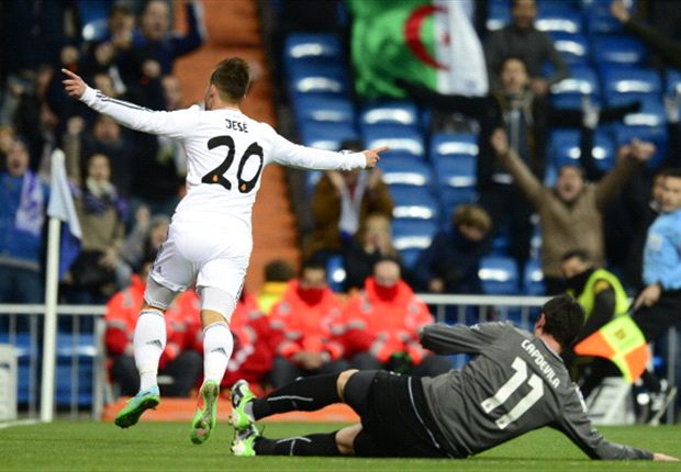 Real Madrid hotshot Jese happy to impress with Bale sidelined