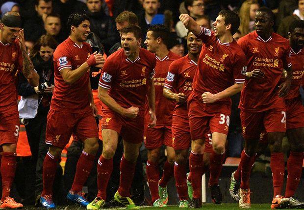 Liverpool 4-0 Everton: Sturridge and Suarez star for rampant Reds