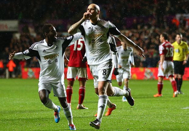 Swansea City 2-0 Fulham: Shelvey & Flores send Swans into top half