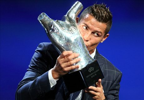 Ronaldo wins Best Player in Europe award