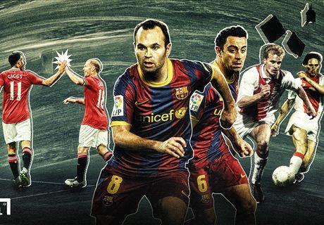 Ajax, PSG, Bayern et les équipes-type des joueurs issus des centres de formation