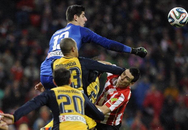 No Barcelona approach for Courtois, says father