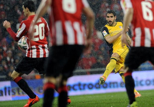 Athletic Bilbao 1-2 (agg 1-3) Atletico Madrid: Garcia and Costa strike to set up Madrid meeting