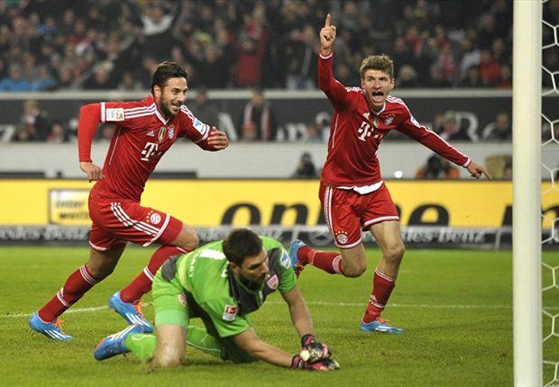 Stuttgart 1-2 Bayern: Claudio Pizarro y Thiago Alcántara bombardean las ilusiones del rival