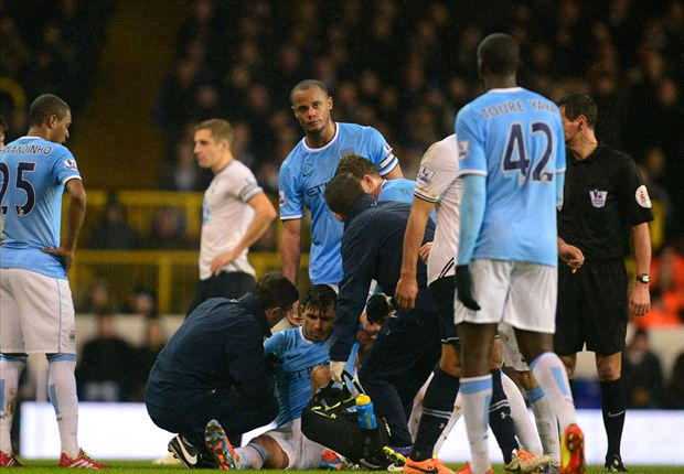 Aguero & Fernandinho close to full recovery, says Pellegrini