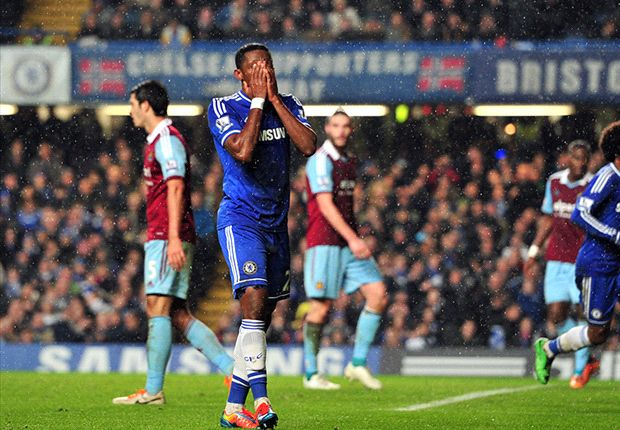 Chelsea 0-0 West Ham: Hammers frustrate blunt Blues