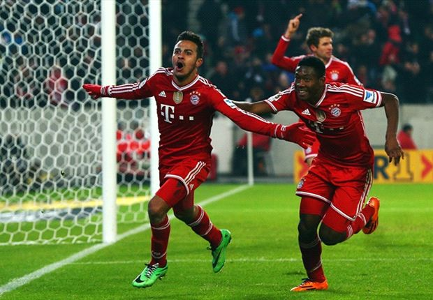 Thiago thanks Javi Martinez for help