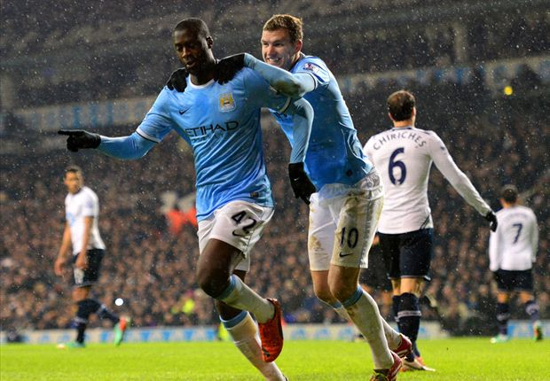 Suarez, Sturridge, Dzeko and Toure - The men who could decide the Premier League title