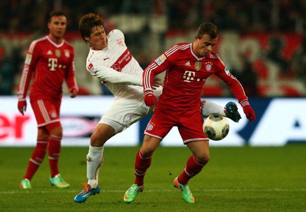 Stuttgart 1-2 Bayern Munich: Last-gasp Thiago puts Bavarians 13 points clear