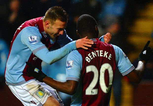 Aston Villa 4-3 West Brom: Benteke penalty seals incredible comeback