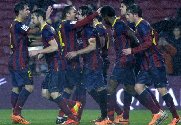 Copa Del Rey: Barcelona Melenggang Mulus Ke Semi-Final