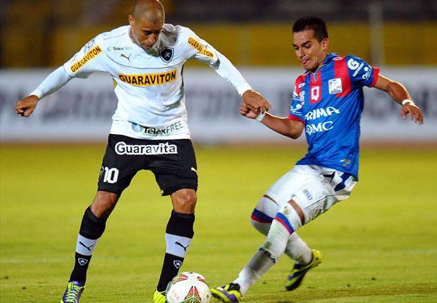Deportivo Quito pegó primero ante Botafogo