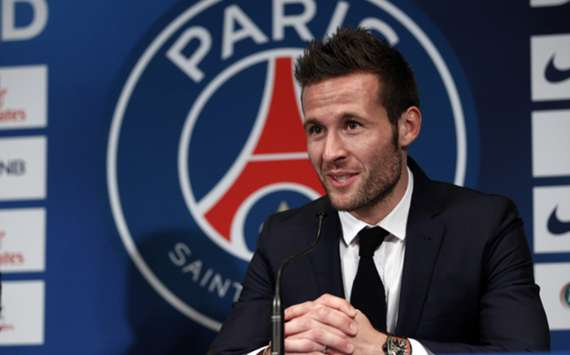 Paris Saint-Germain midfielder Yohan Cabaye