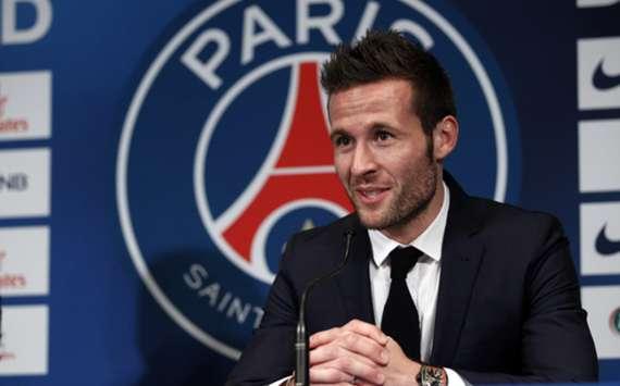 Paris Saint-Germain midfielder Yohan Cabaye