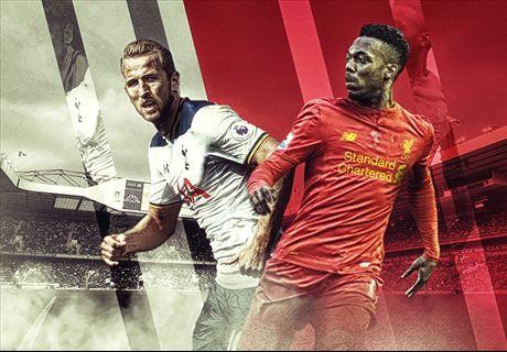 LIVE: Tottenham v Liverpool