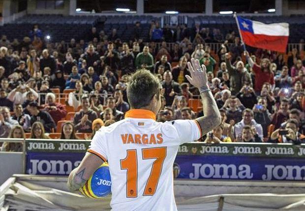 Vargas, uno de los refuerzos invernales