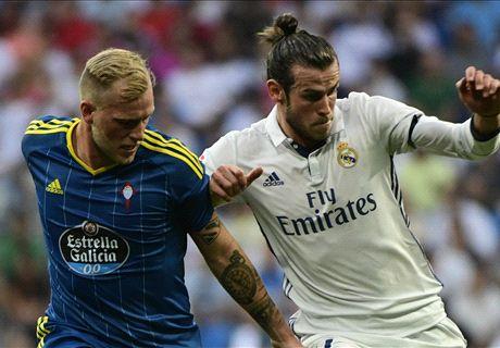 FT: Real Madrid 2-1 Celta Vigo