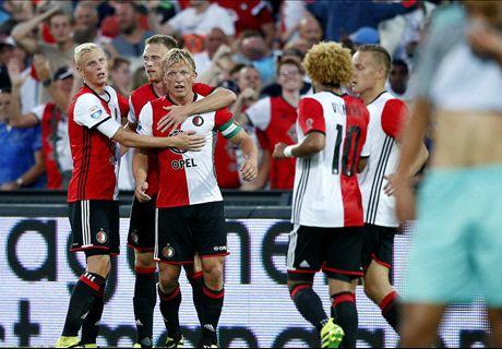 Feyenoord wint stadsderby van Excelsior