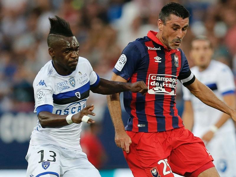 Caen-Bastia (2-0), Caen tout en maitrise