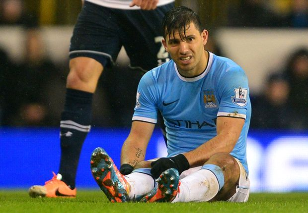 Manchester City handed Aguero injury boost ahead of Barcelona clash