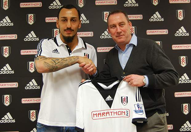 Fulham sign Mitroglou from Olympiakos