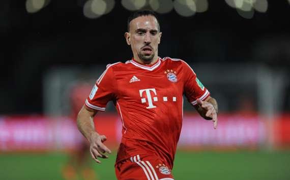 Bayern Munich forward Franck Ribery