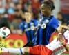 Drogba suffers hamstring injury
