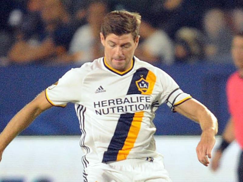 LA Galaxy lose Gerrard and Van Damme in draw