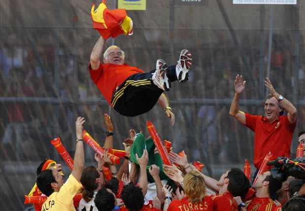 Spain forever indebted to Aragones' Tiki-Taka legacy