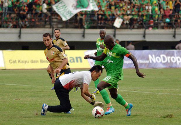 Persebaya Surabaya sukses mendulang angka penuh dalam laga tandang melawan Mitra Kukar