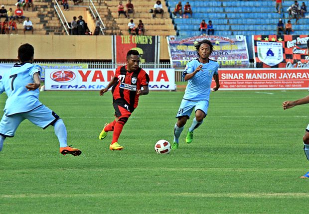 Persipura Jayapura Bungkus Tiga Poin Pertama Indonesia Super League