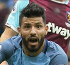 AGUERO: Faces ban for Reid elbow
