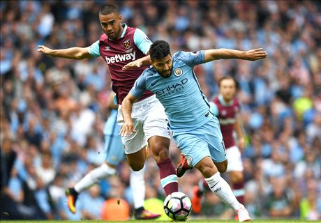 Aguero facing ban after Reid elbow