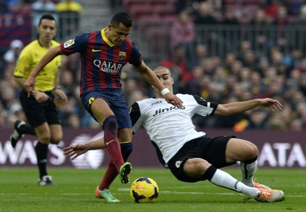 Barcelona 2-3 Valencia: 10-man Blaugrana stunned at Camp Nou