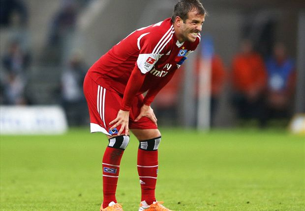 Van der Vaart: I was afraid of our fans