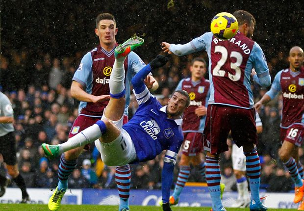 Everton 2-1 Aston Villa: Mirallas stunner seals turnaround