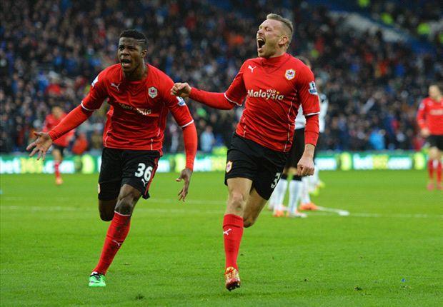 Cardiff 2-1 Norwich: Bluebirds fight back for first league win under Solskjaer