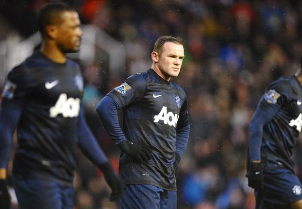Rooney losing hope of title: Manchester United must aim for top four