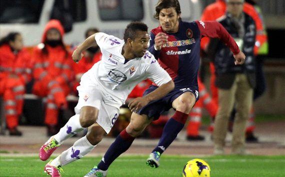 Anderson Cagliari Fiorentina Serie A 02012014
